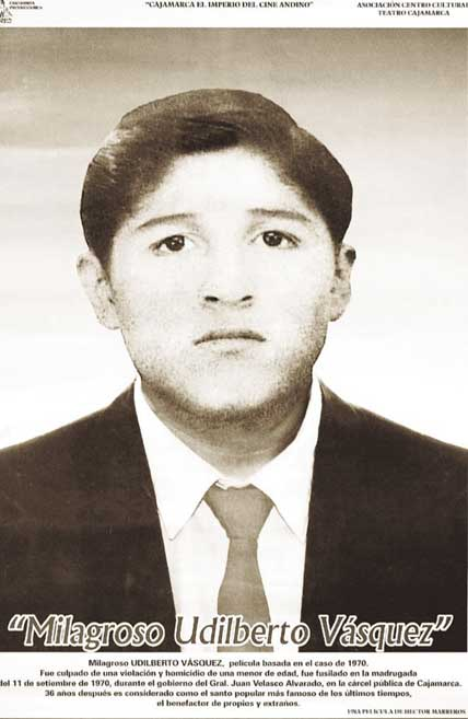 Milagroso Udilberto Vásquez, el santito chotano de Cajamarca